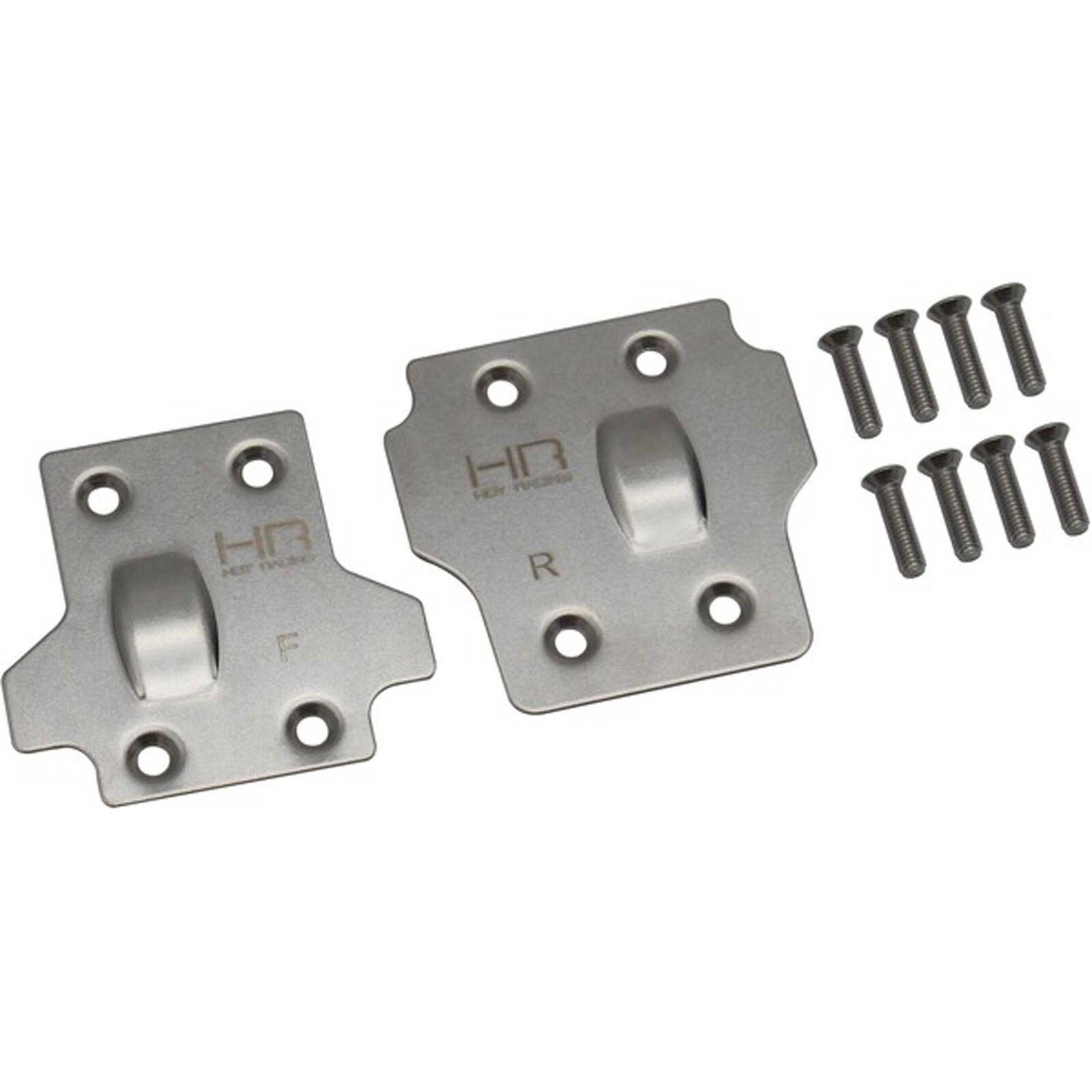 Stainless Steel Skid Plate Set: ARRMA 1/8 BLX
