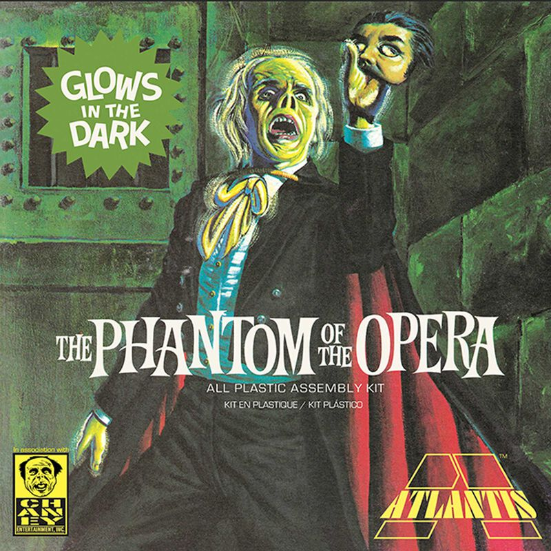 Lon Chaney Phantom of The Opera, Glow Edition