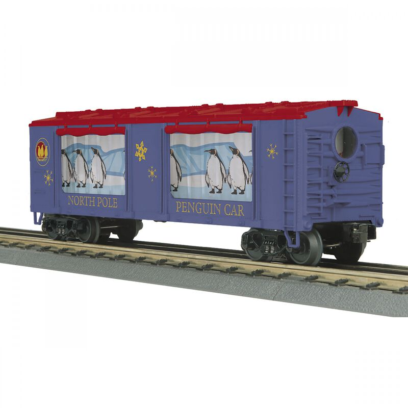 O-27 Operating Box Car with Action North Pole