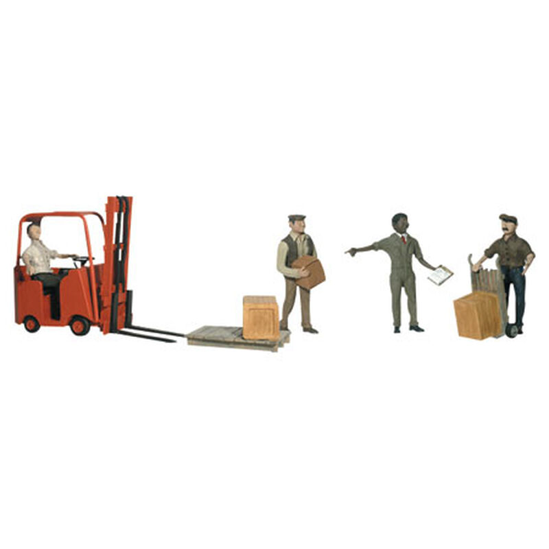 O Workers w/Forklift