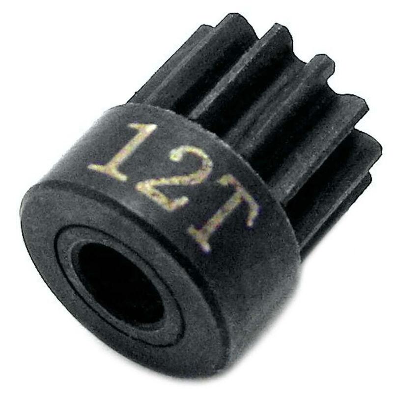 Hardened Steel Pinion 48P 12T 1 8 Bore