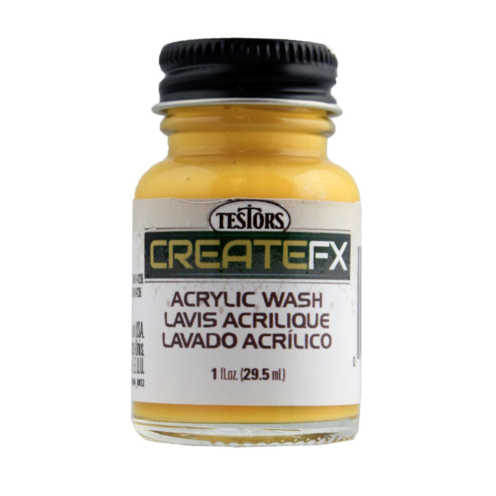 FX Acrylic Wash Hickory 1 oz, Tri