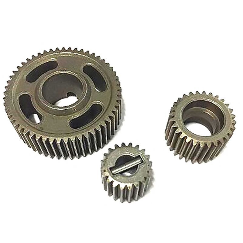 Steel trans gear set (20 28 53T) and pin Ever 7 10