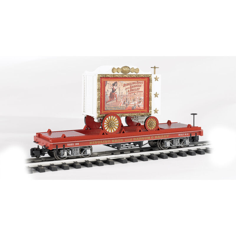 G Flat Car, Ringling Bros/Lady Artists #108