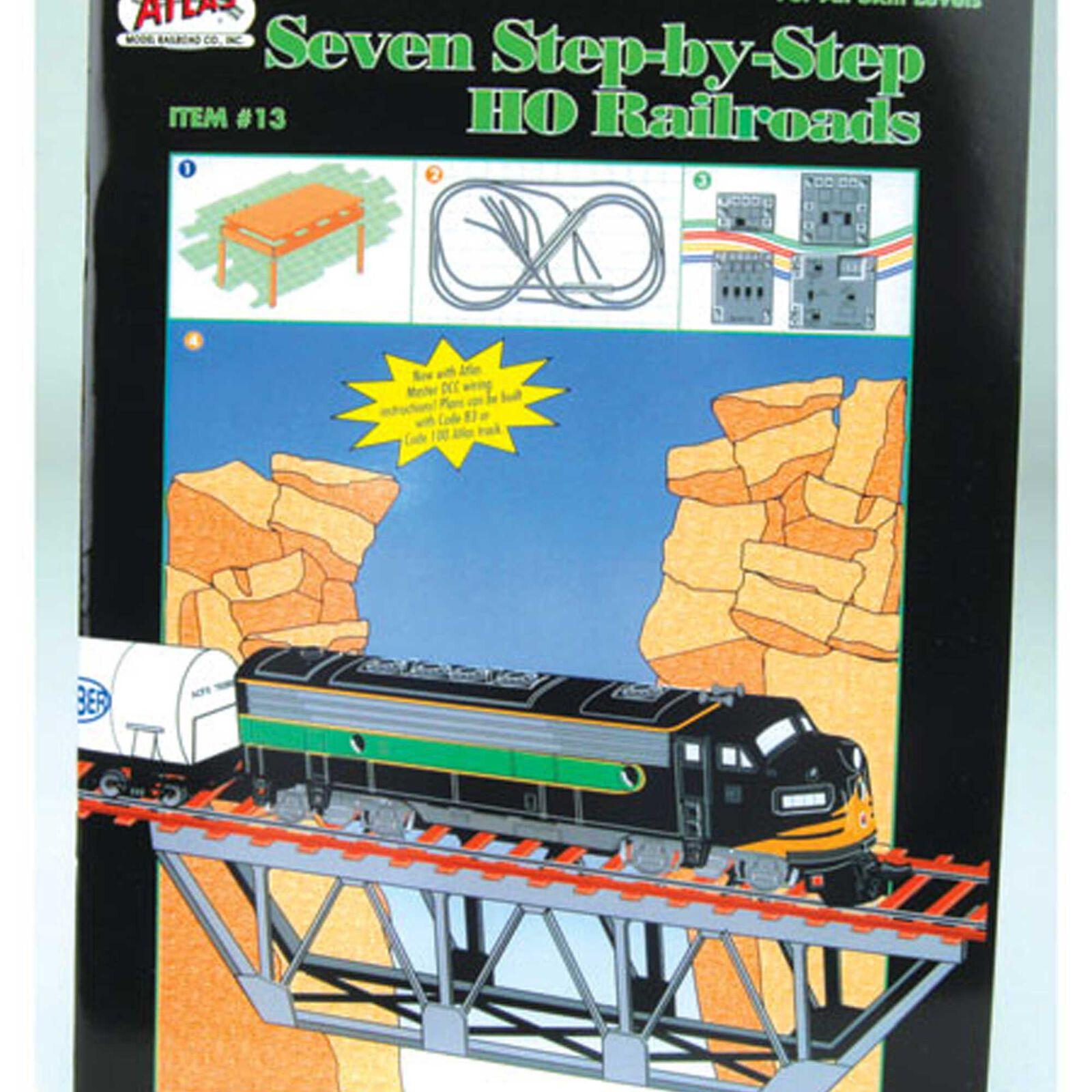 7 Step-By-Step HO Railroads