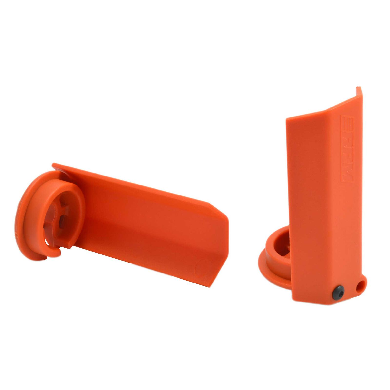 Shock Shaft Guards, Orange: Traxxas X-Maxx