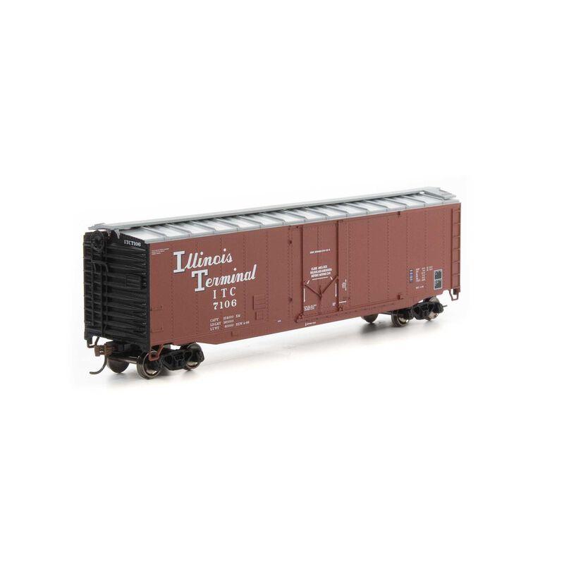 HO 50' Plug Door Smooth Side Box ITC #7106