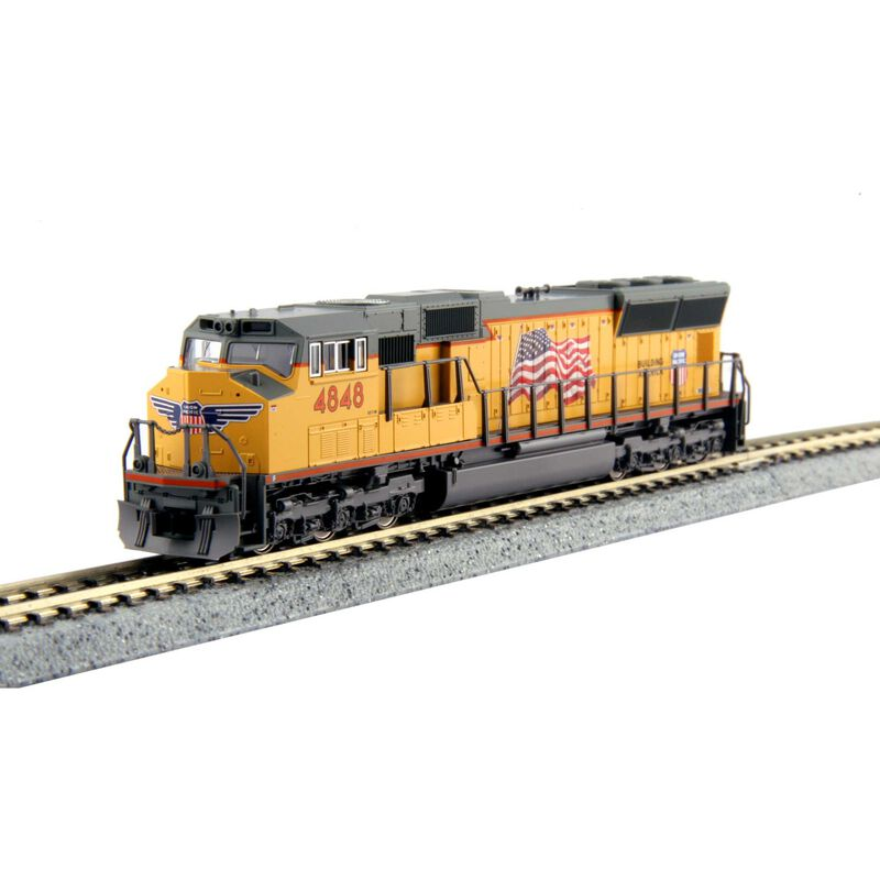 N SD70M w DCC UP #4848