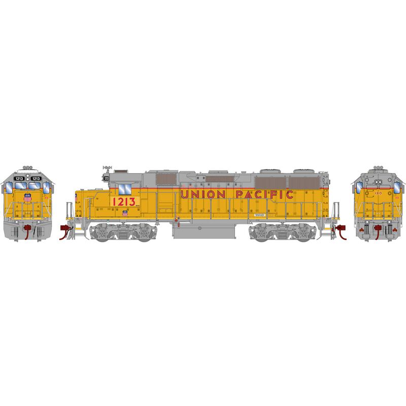 HO GP39-2 with DCC & Sound UP #1213