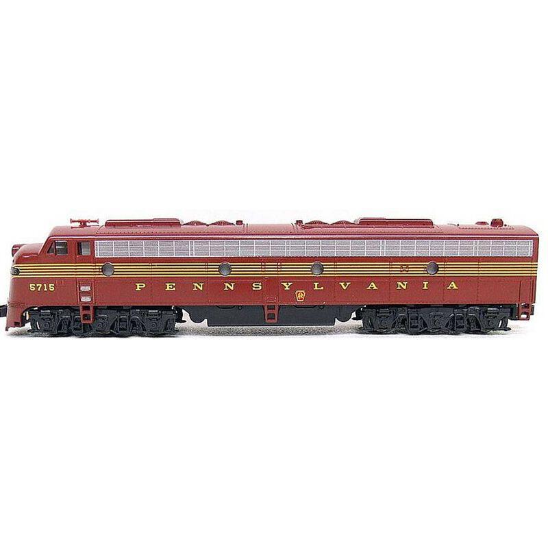 N EMD E8A PRR 5-Stripe with DCC #5887