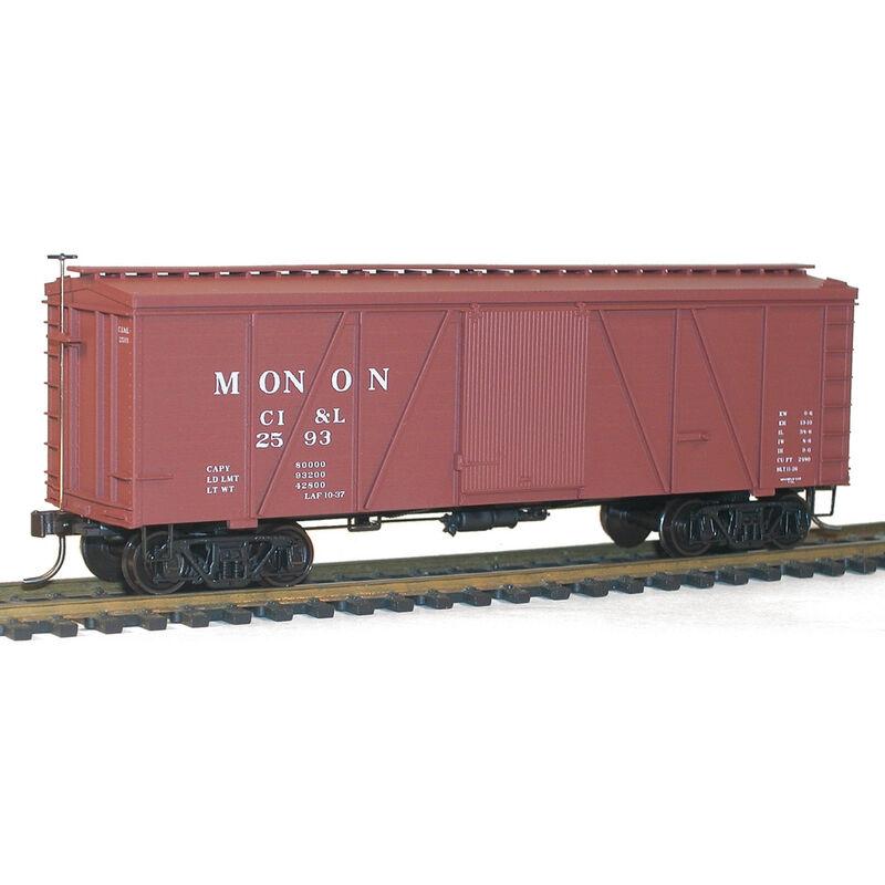 HO KIT 36' Fowler Wood Box Monon