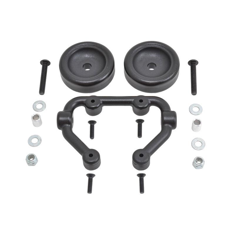 Low Visibility Wheelie Bars: X-Maxx