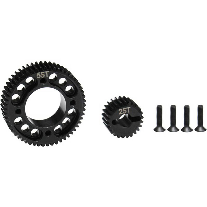 Stealth X Drive UD3 Gear Set, Machined