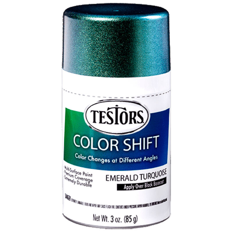 3 oz Testors Colorshift Emerald Turquoise