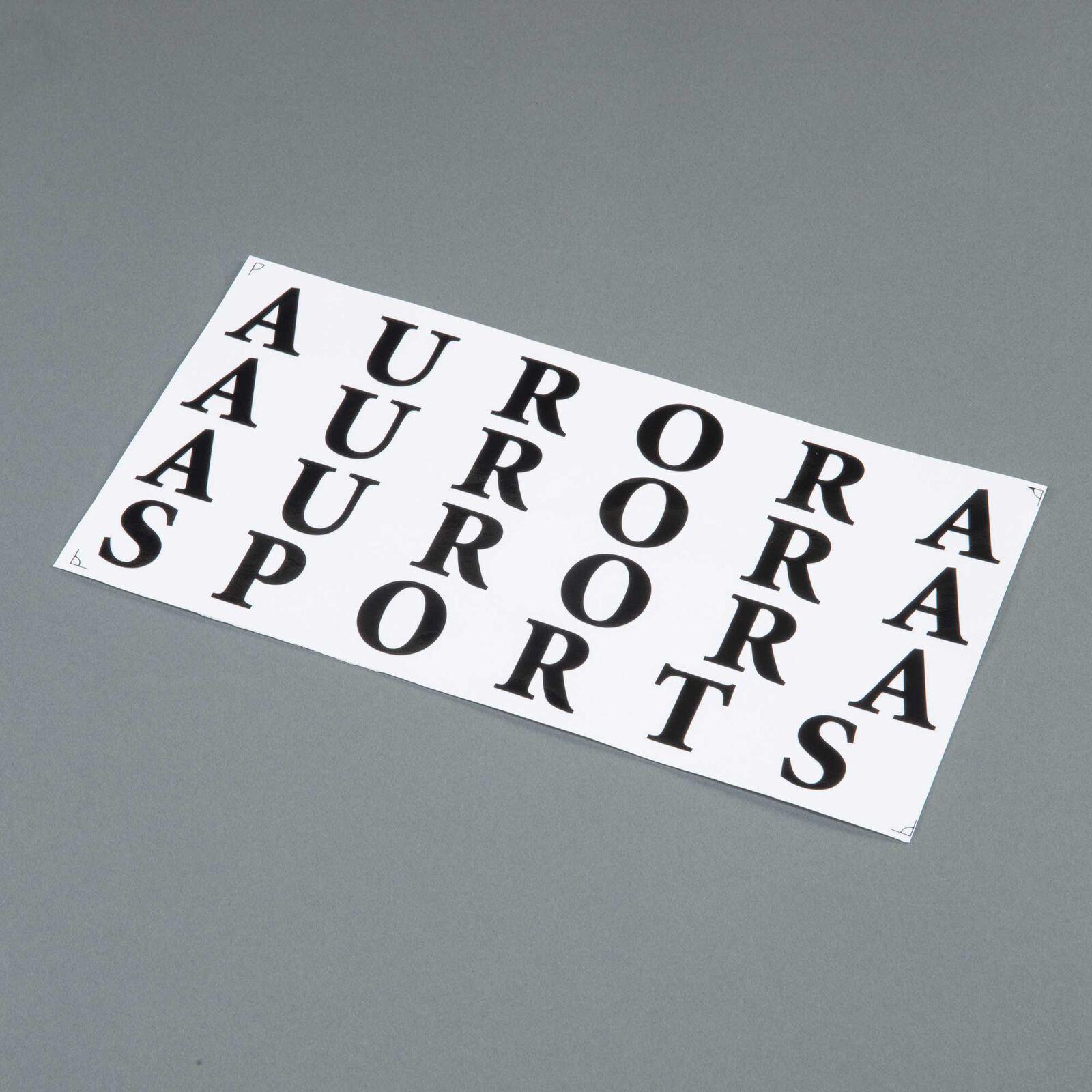 """Decal Sheet: Aurora EP/GP .46-.55 ARF 59.1"""""""