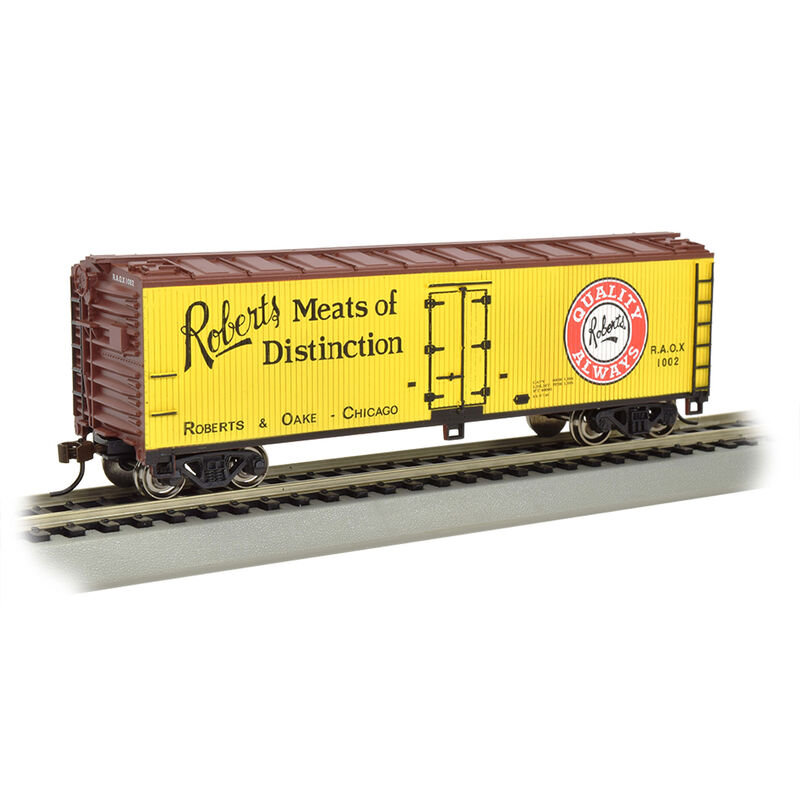 HO 40' Wood Reefer Roberts Meats of Distinction
