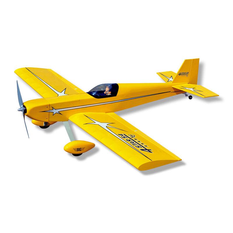 4-STAR 54 EG ARF, Yellow