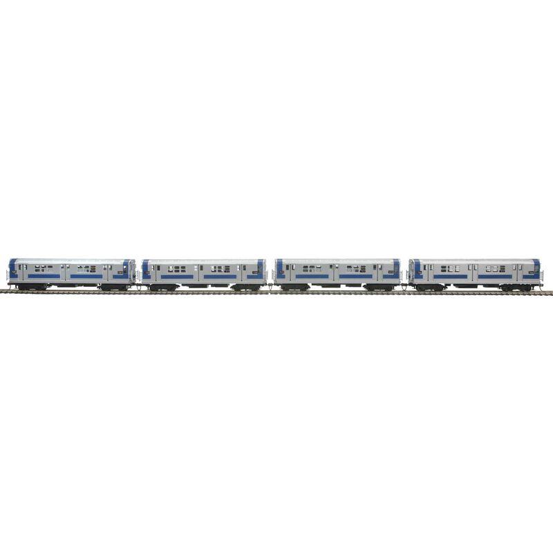 HO R-21 Subway w NMRA MTA #7166 (4)