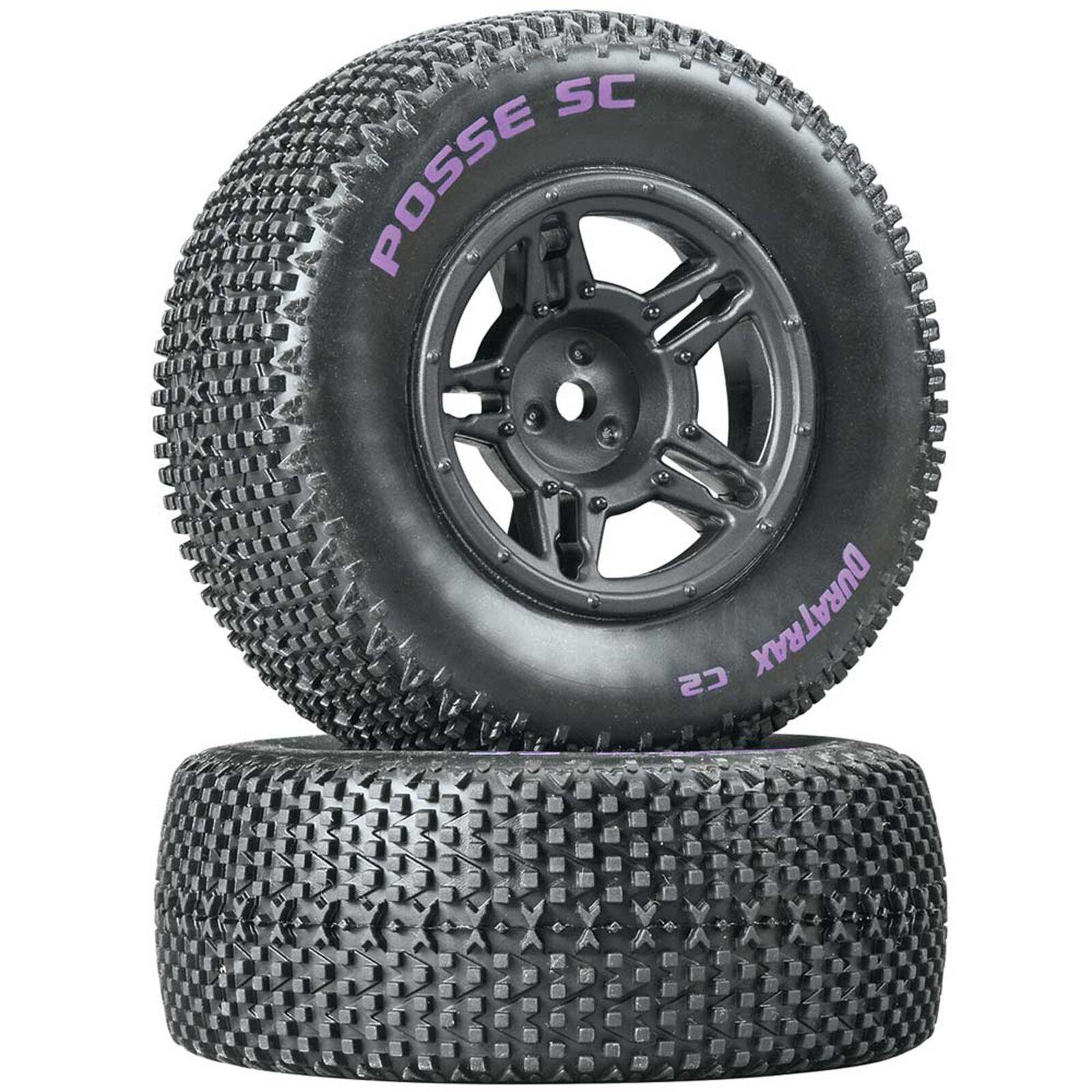 Posse SC C2 Mounted Tires, Rear Slash (2)