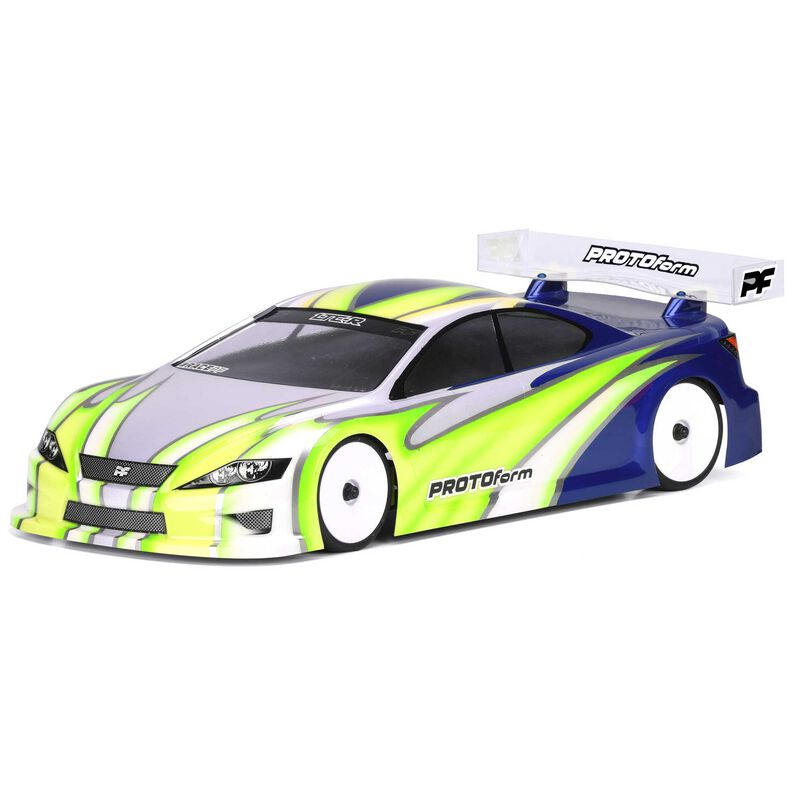 1/10 LTC-R Rubber PRO-Lite Weight Clear Body: 190mm Touring Cars