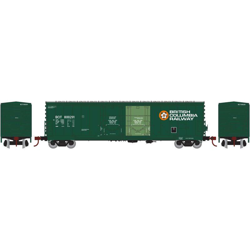 HO RTR 50' Evans DD Plug Box BCOL #800291