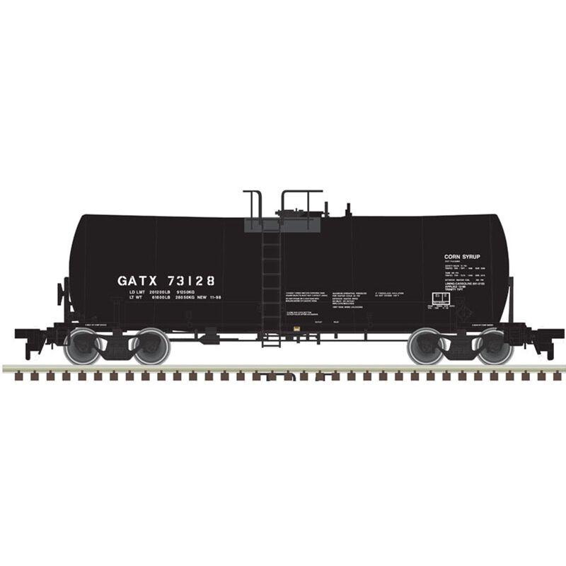 HO 17 000-Gallon Tank Car GATX #73128