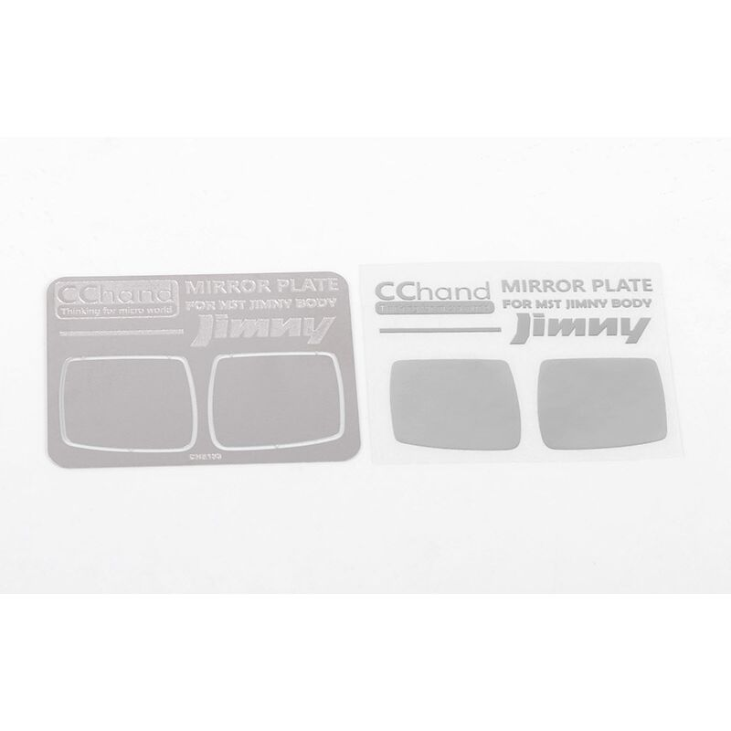 Mirror Decals: MST 1/10 CMX with Jimny J3 Body