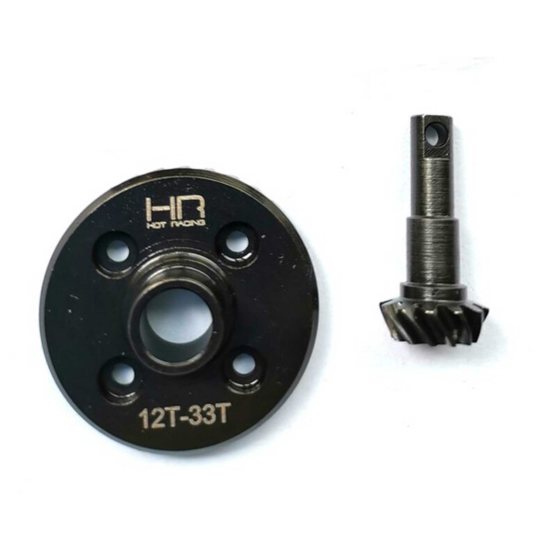 Steel Helical Diff Ring Pinion Overdrive: TRX-4