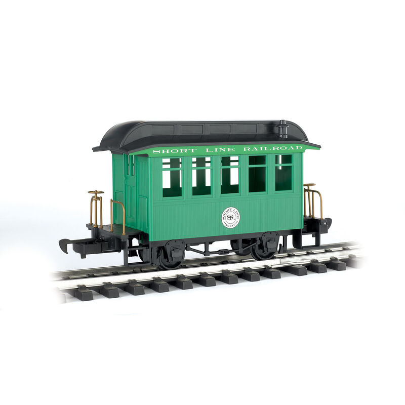 G Li'l Big Haulers Coach Car, Short Line/Green