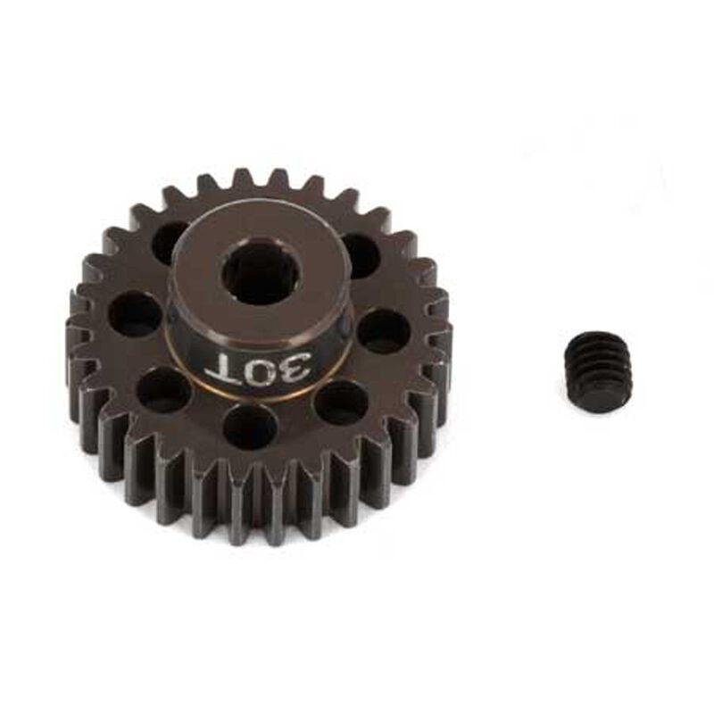 Factory Team Aluminum Pinion Gear, 30T, 48P, 1/8 shaft