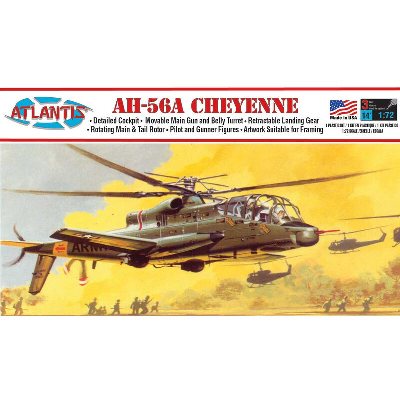 AH-56A Cheyenne Helicopter 1/72