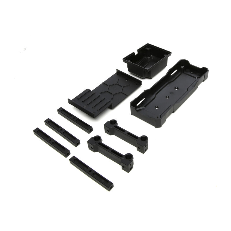 Chassis Brace and Battery Tray Set: Hammerjaw