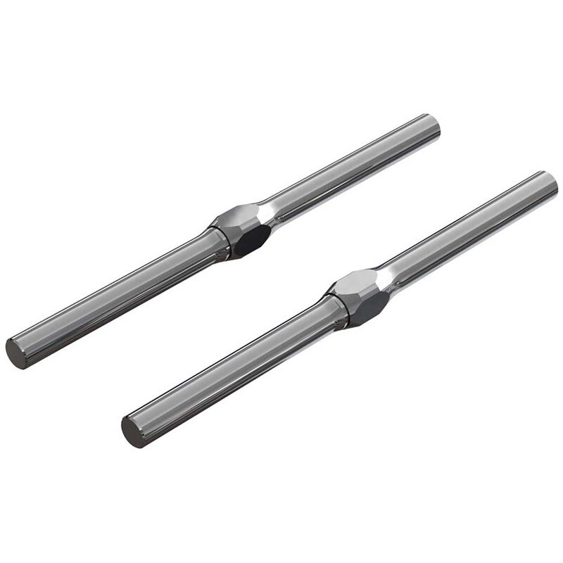 Steel Turnbuckle 4x71mm, Black: 4x4 775 BLX 4S