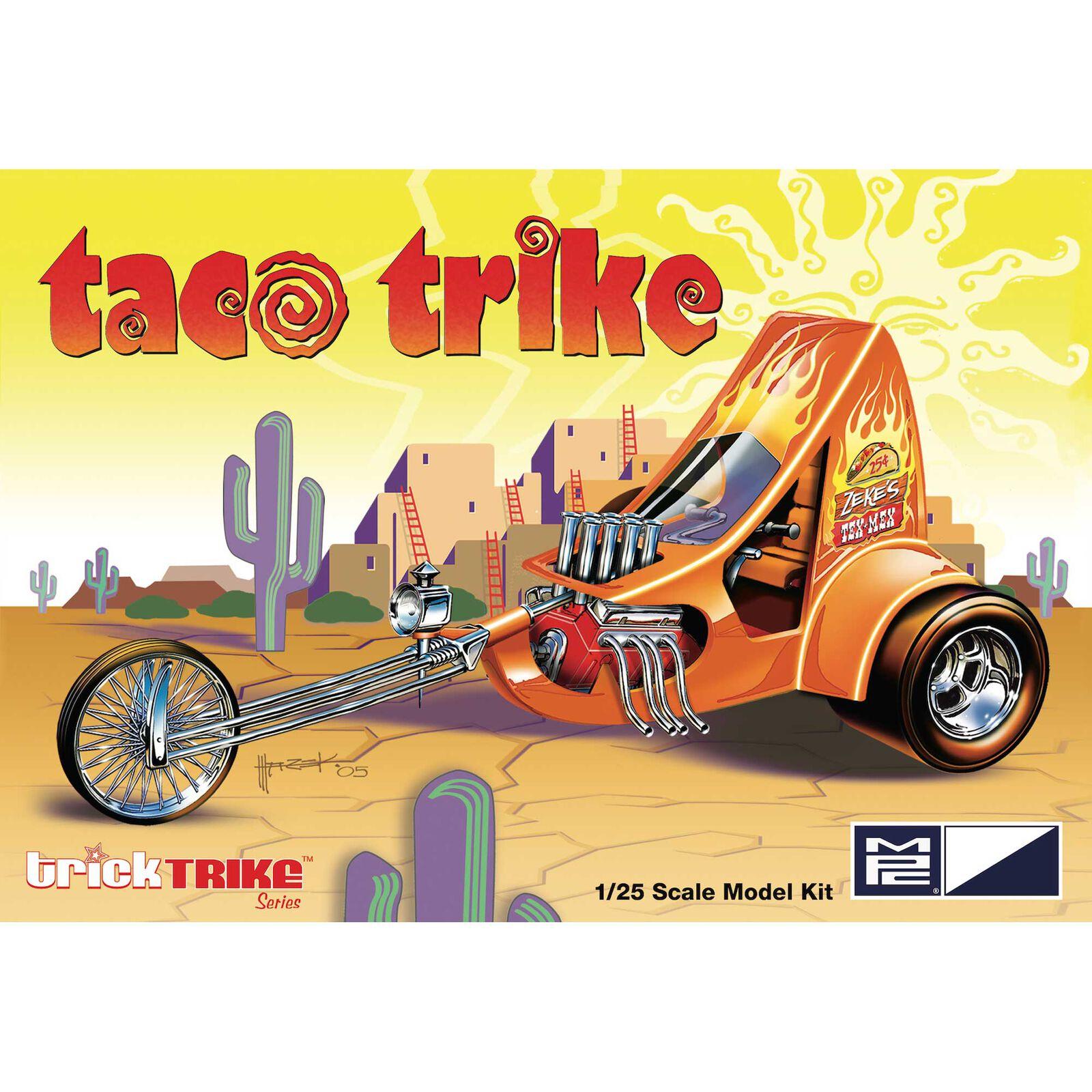 1/25 Taco Trike (Trick Trikes Series)