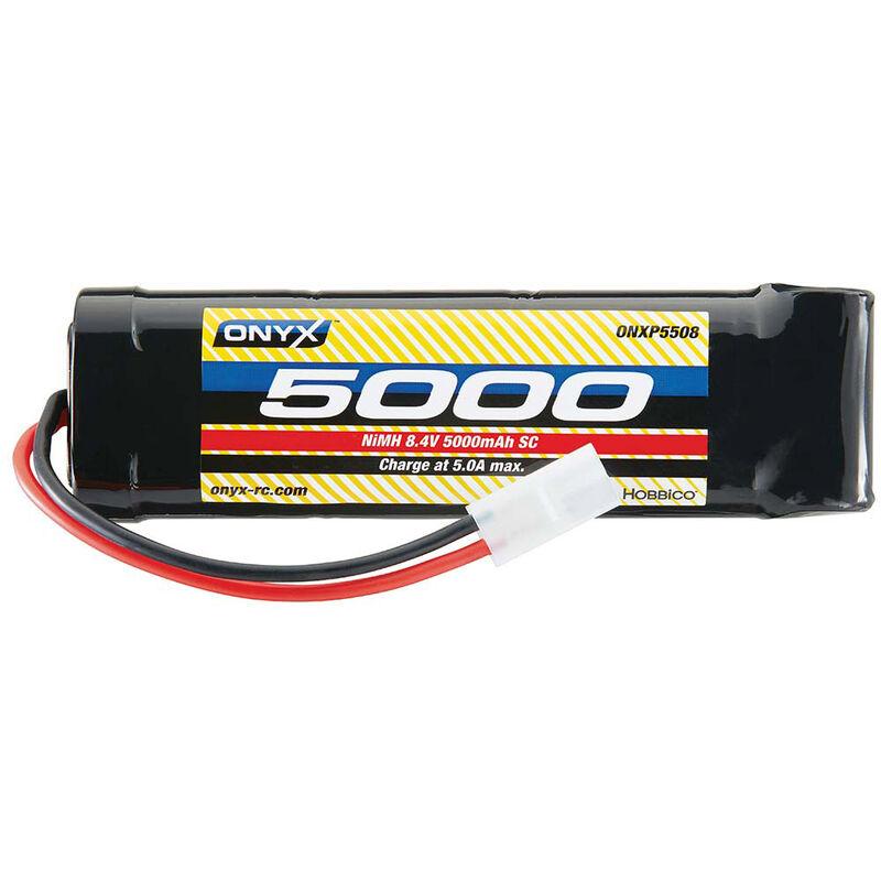 8.4V 5000mAh 7-Cell Sub-C Stick NiMH Battery: Tamiya Connector