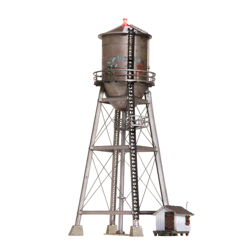 HO Built-Up Rustic Water Tower