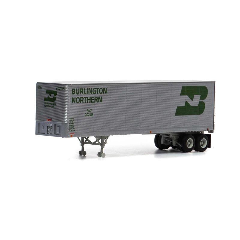 HO RTR 40' Fruehauf Z-Van Trailer BN #202415