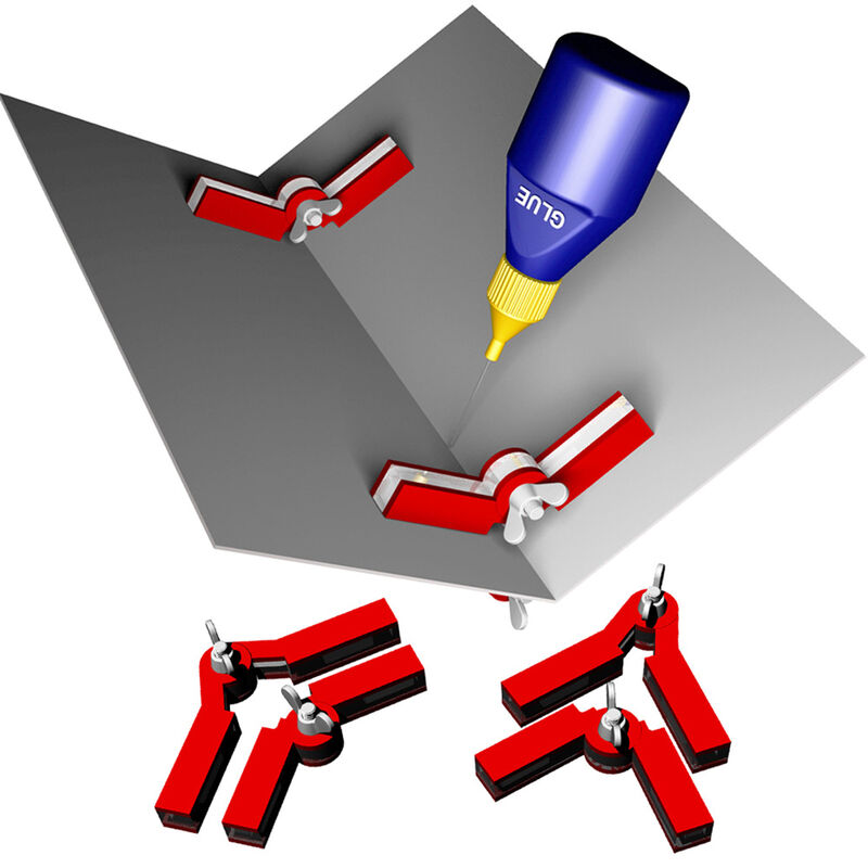 Magnetic Adjustable Snap & Glue Set