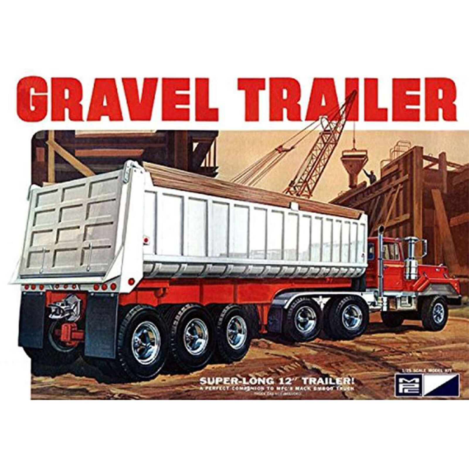1/25 3 Axle Gravel Trailer