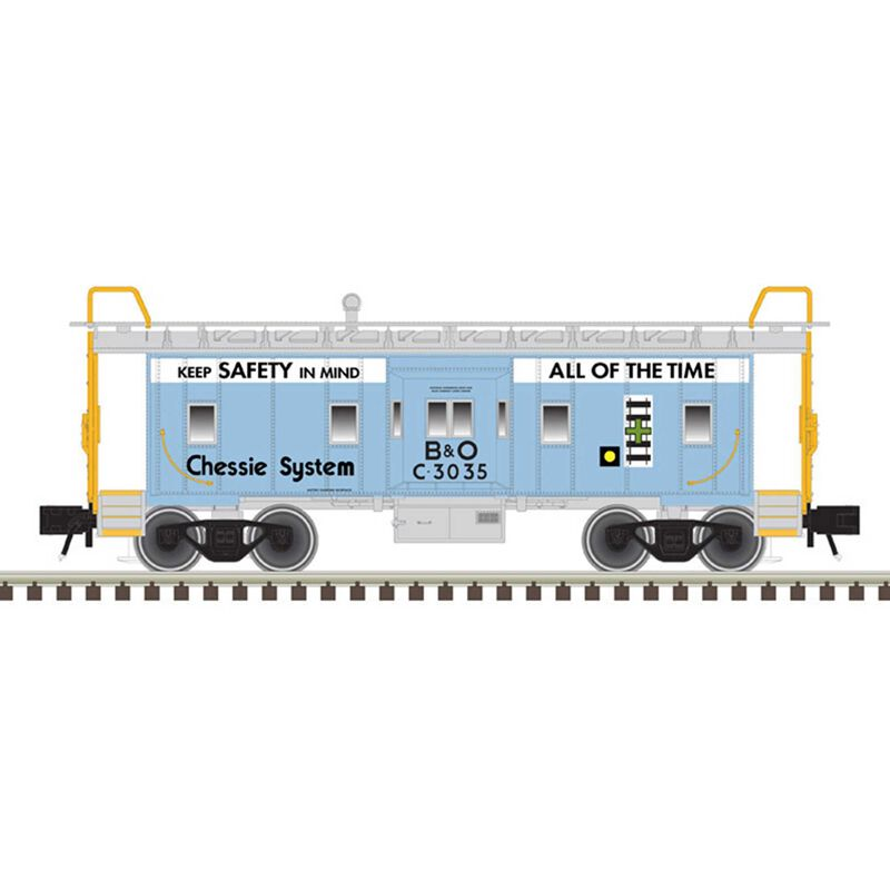 O Bay Window Caboose Chessie System* C-3035
