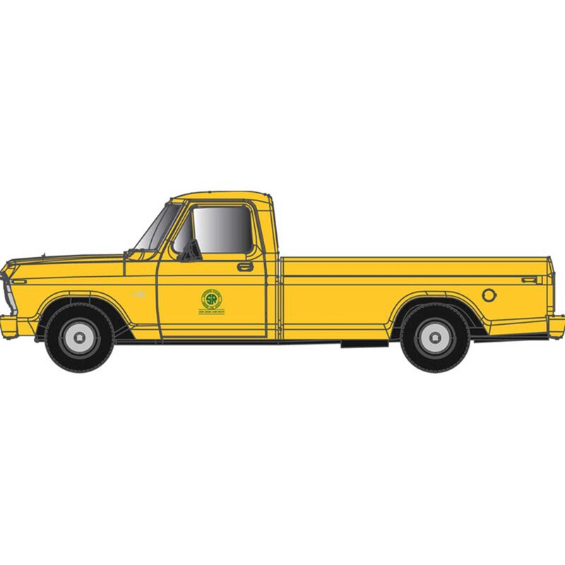 N  F-100 Ford Pick Up Truck Southern (Yellow)