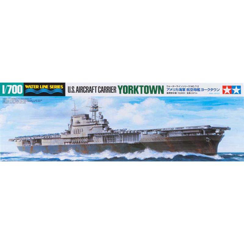 1/700 US Aircraft Carrier Yorktown CV-5