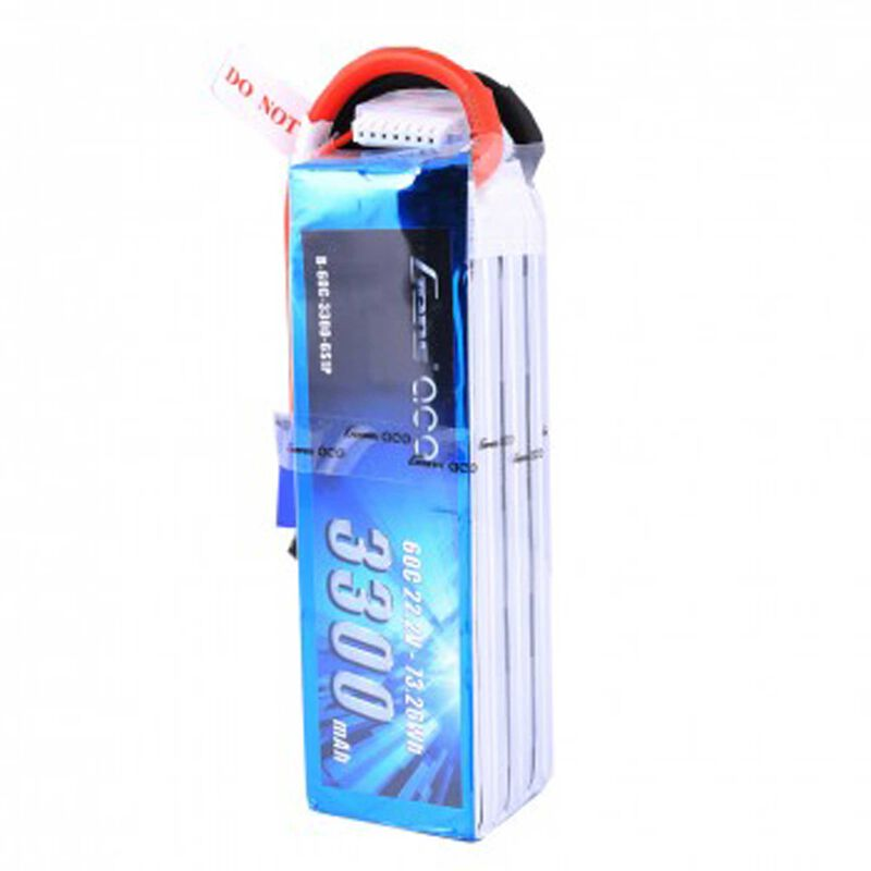 22.2V 3300 Capacity 6S Voltage 60C Rate EC5
