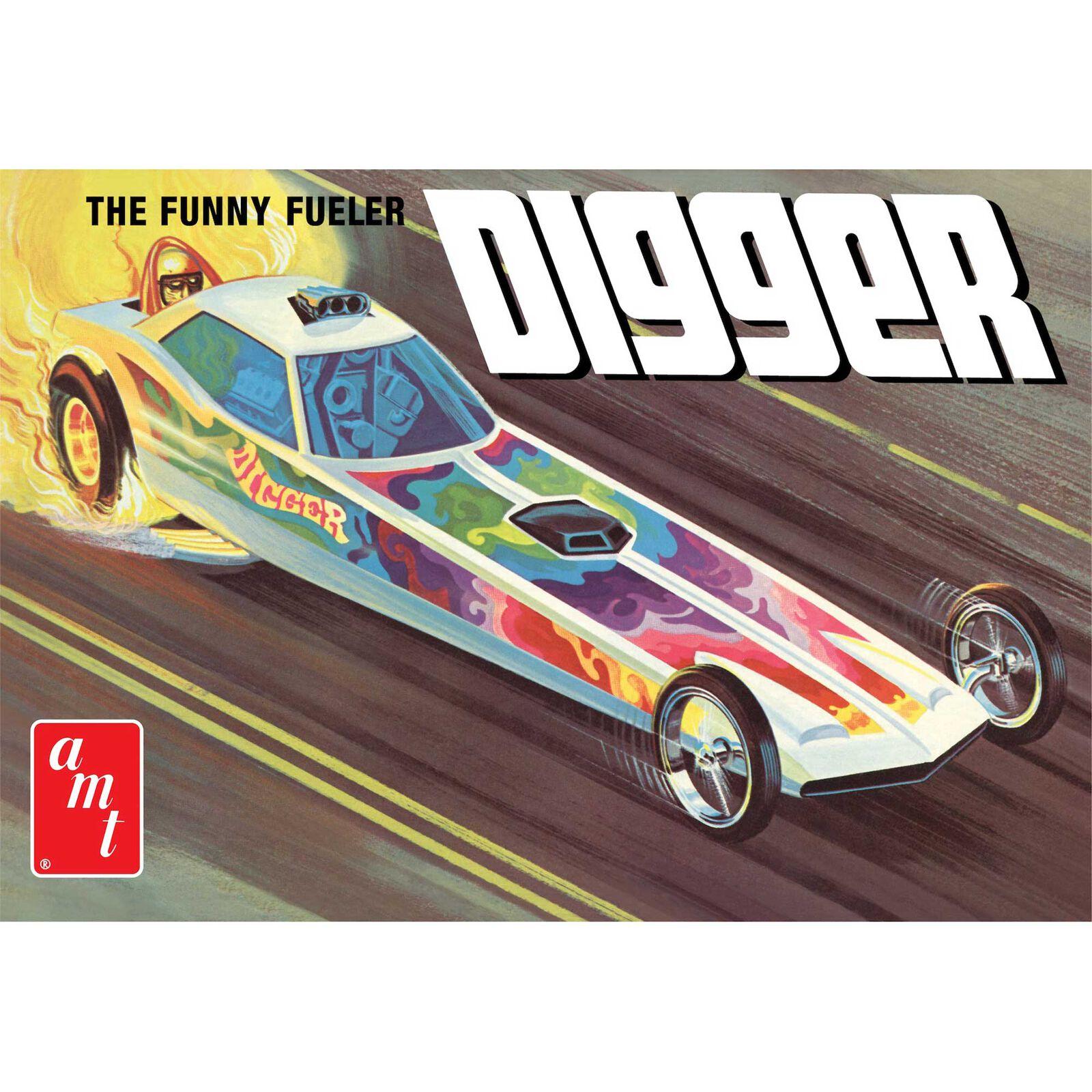 1/25 Digger Dragster Fooler Fueler