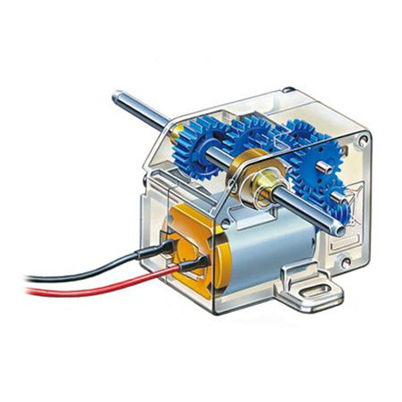 Mini Motor Low Speed Gearbox 4-Speed