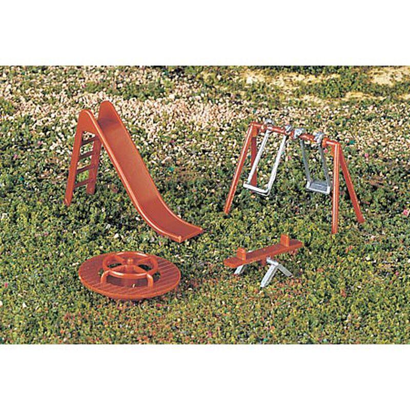 HO Playground Equipment