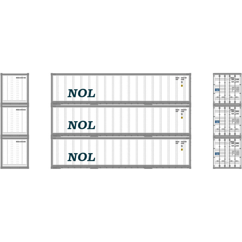 N 40' Smooth Side Container NOL (3)