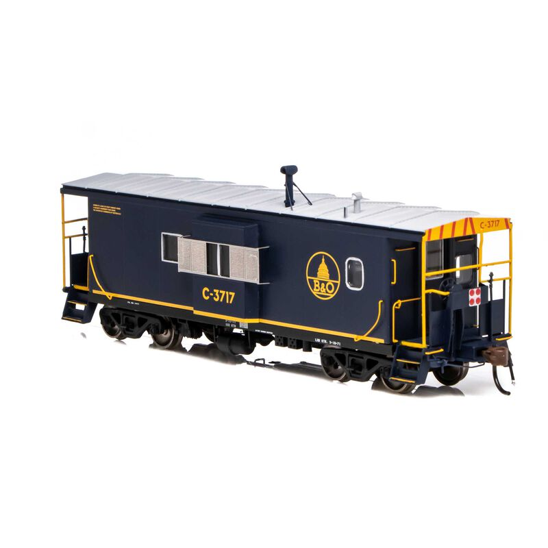 HO ICC Caboose with Lights & Sound B&O #C-3717