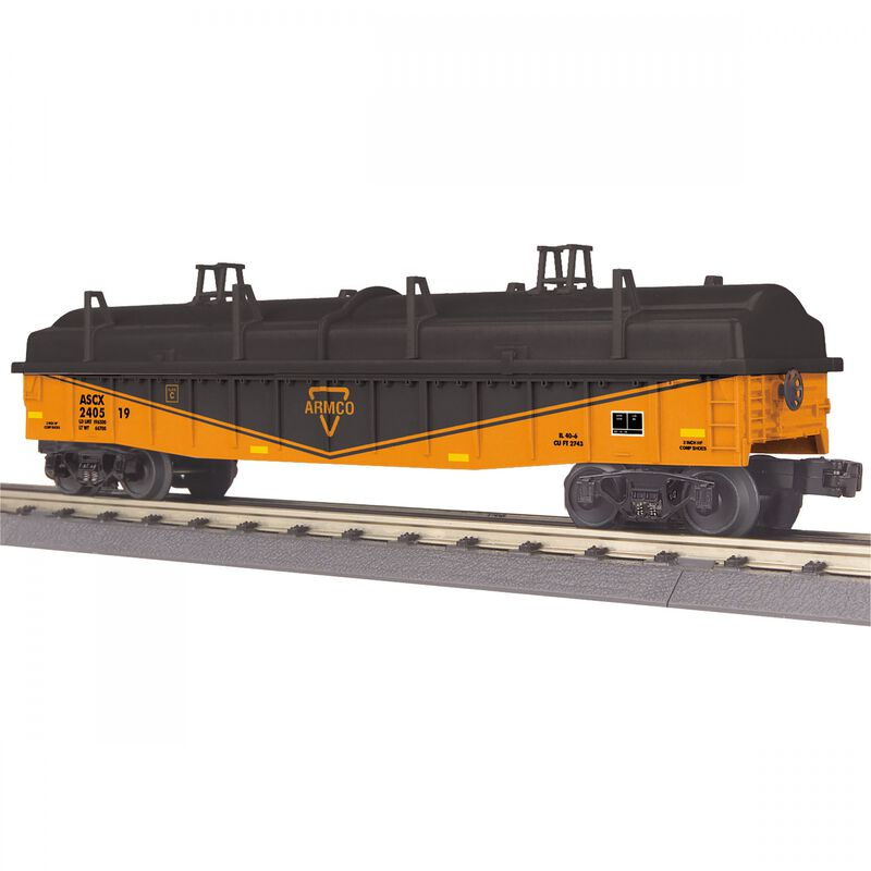 O-27 Gondola with Cover Armco Steel #240519