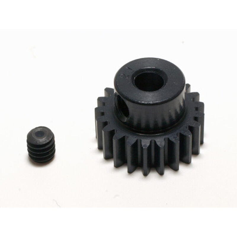 48P Hard Coated Aluminum Pinion Gear, 21T